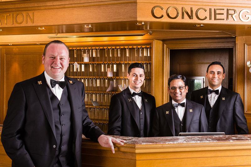 concierge front desk